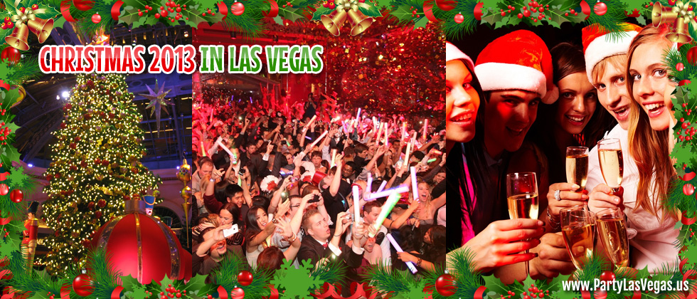 Party Las Vegas for Christmas